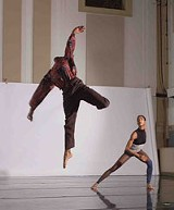 PHOTO BY STEVE LABUZETTA - Norwood Pennewell and Keisha Clarke dancing DANCECOLLAGEFORROMIE.