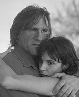 COURTESY OF THE GEORGE EASTMAN HOUSE - Obvious shambles: Grard Depardieu and Geraldine Pailhas in Le Garu.