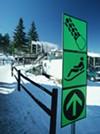 Olympic Village at Lake Placid.