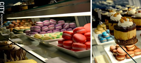 Pastries and macarons from Sarah's Patisserie. - PHOTO BY MATT DETURCK