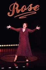 "DAVID COOPER - Perfect pitch and gaudy fun: Nora McLellan in ""Gypsy"""