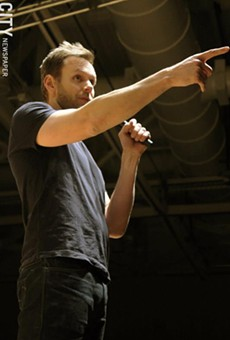 Performance photos: Joel McHale and Brooks McBeth at RIT