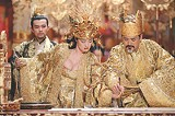 """SONY PICTURES CLASSICS - Petal pushers: Gong Li and Chow Yun-Fat in """"Curse of the Golden Flower."""""""