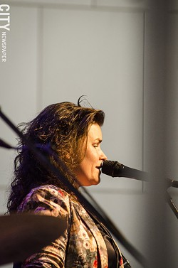 Phaedra Kwant performed at Max of Eastman Place. - PHOTO BY MARK CHAMBERLIN