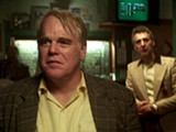 "PHOTO COURTESY IFC FILMS - Philip Seymour Hoffman and John Turturro in ""God's Pocket."""