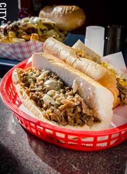 Philly Steak Sandwiches from Mac's - PHOTO BY MARK CHAMBERLIN