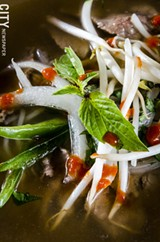 Pho from East/West kitchen. - PHOTO BY MARK CHAMBERLIN