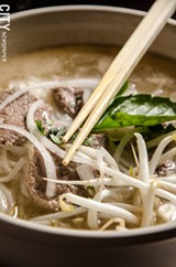 MARK CHAMBERLIN - pho with rare beef