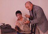 play worth killing for: Carl Krickmire and Ken Bordner in Centerstages Deathtrap.