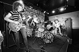 PHOTO BY FRANK DE BLASE - Praising the Apostles: Raw psychedelic rockers Apostles of the Hidden Son at the Bug Jar.