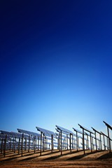 FILE PHOTO - Private companies will build a solar farm on the former Town of Williamson landfill. The electricity will power the town's buildings.