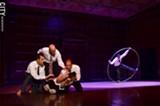 PHOTO BY MATT DETURCK - The cast of PUSH Physical Theatre.