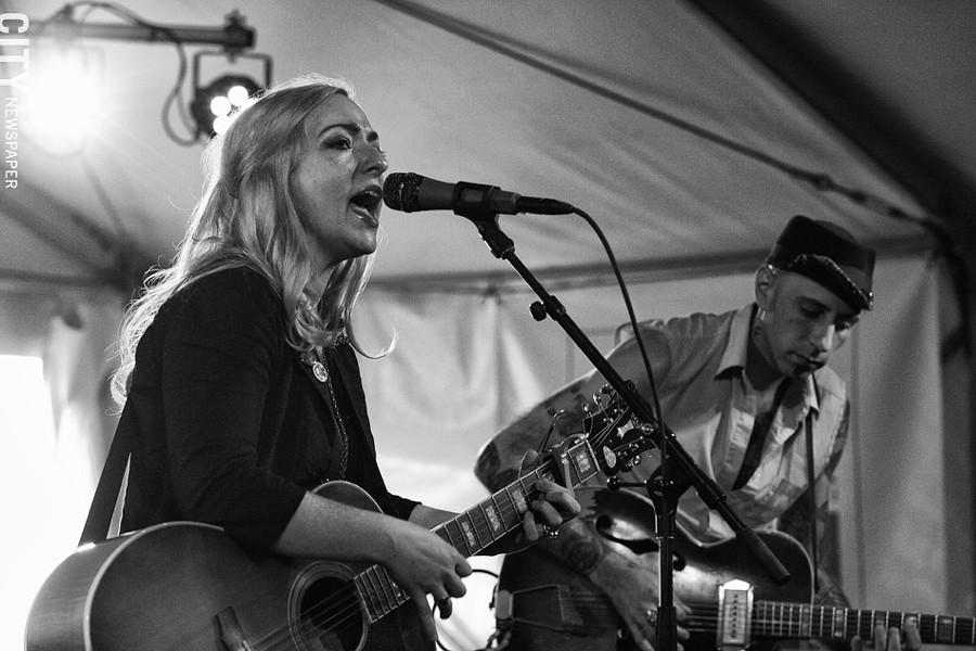 Rachel Brook Band played Abilene. - PHOTO BY FRANK DE BLASE