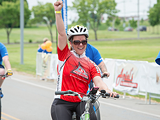 ROCHESTER ADA - Red Rider crosses the finishline