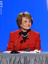 PHOTO BY MATT DETURCK - Representative Louise Slaughter.