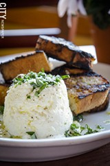 PHOTO BY MARK CHAMBERLIN - Ricotta fatta