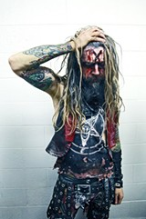 PHOTO COURTESY RICK FAGAN - Rob Zombie.