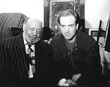 PHOTO BY ANDREW STEINER - Robert Lockwood, Jr. with Steve Grills