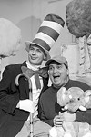 """Rochester Children's Theatre's Mark Karnisky and Marc Raco in """"Seussical"""""""