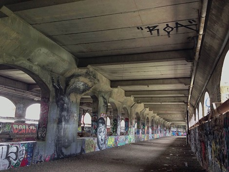 Rochester's abandoned subway - PHOTO COURTESY THE LOBBY/@LOBBYIST