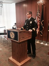 PHOTO BY CHRISTINE CARRIE FIEN - Rochester's new police chief, Mike Ciminelli, says the RPD will go after open-air drug markets.