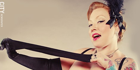 Ruby Sparkles is the founder of Sirens & Stilettos Cabaret. - PHOTO BY FRANK DE BLASE