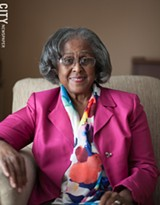 PHOTO BY MIKE HANLON - Ruth Holland Scott was the first black woman to serve on Rochester City Council. She also ran for mayor.