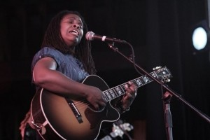 Ruthie Foster performed Thursday, June 28, at Harro East Ballroom. PHOTO BY FRANK DE BLASE