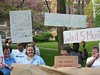 Save our Swasey! Colgate students and faculty protest the book swap.