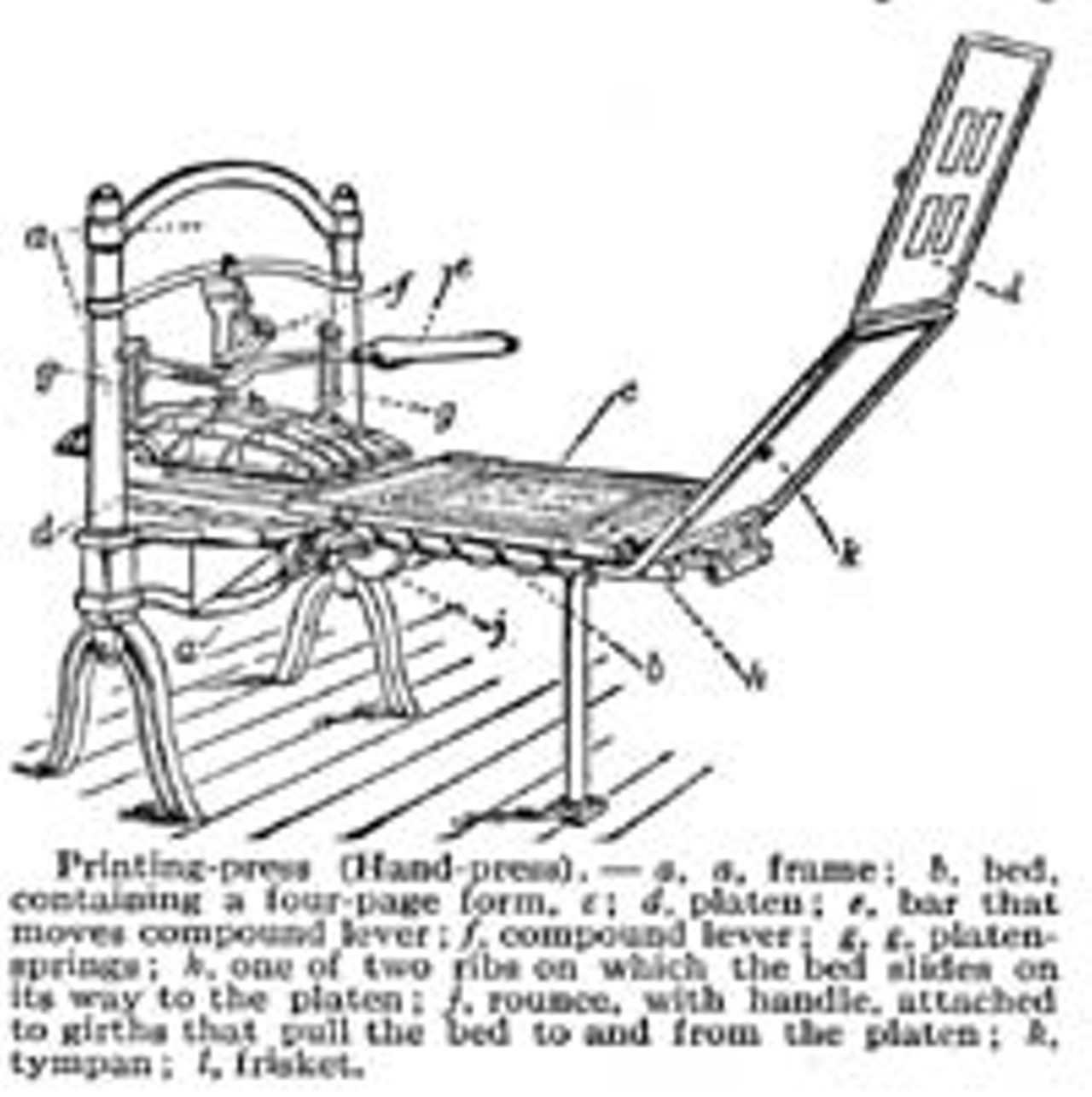 How A Printing Press Works Gutenberg Diagram Wikipedia Wood Type Rising Featured Story Rochester City Newspaper