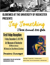 Say Something! GlobeMed's 3rd Annual Art Gala