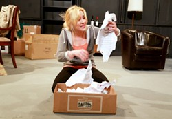 "Scene from ""Mammoth"": Emily Putnam. - PHOTO COURTESY ANNETTE DRAGON"