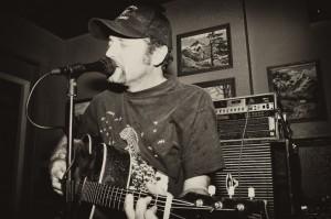 Scott Biram performed at Abilene on Wednesday, June 13. PHOTO BY FRANK DE BLASE