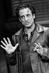 "KEN A. HUTH /GEVA THEATRE CENTER - Sean Patrick Reilly as Teach in ""American Buffalo."""