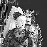 Seana McKenna as Queen Elizabeth and Tom McCamus as an electrifying King Richard III - at the Stratford Festival.