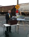 Senator Chuck Schumer wants railroad and oil companies to stop using a tanker car model that has a poor safety record.