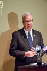 PHOTO BY MARK CHAMBERLIN - Senator Ted O'Brien.
