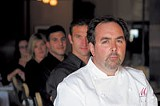 GARY VENTURA - Serving up the fancy vittles again: chef Mark Cupolo and the staff of Max Chophouse