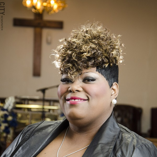 "Singer Serena Young was a finalist last year on BET's ""Sunday Best"" gospel performances. - PHOTO BY MARK CHAMBERLIN"