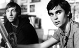 "OURTESY OF SONY PICTURES CLASSICS - Sketch comedy: Joel David Moore and Max Minghella - in ""Art School Confidential."""