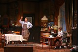 "PHOTO BY KEN HUTH - Skip Greer and Brigitt Markusfeld in ""You Can't Take it With You,"" now on stage at Geva Theatre."