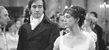 "FOCUS FEATURES - Smothered society: Keira Knightley - and Matthew MacFayden in ""Pride & Prejudice."""