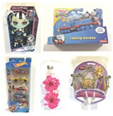 IMAGES PROVIDED - Some of the toys that tested positive for heavy metals.
