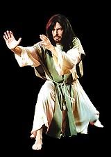 """Something to believe in: Phil Caracas in """"Jesus Christ, Vampire Hunter."""""""