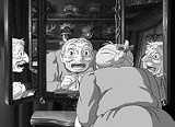 WALT DISNEY PICTURES - Sophie makes him less vain: a still from Howls Moving Castle.