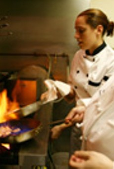 Subtle Italian for the seasons: chefs Katie Lombardo and Sylvia Formoso on the Lucano kitchen.