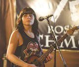 PHOTO COURTESY AARON WINTERS - Teressa Wilcox can be seen tearing up stages around town, either as a solo acoustic act or with her band.