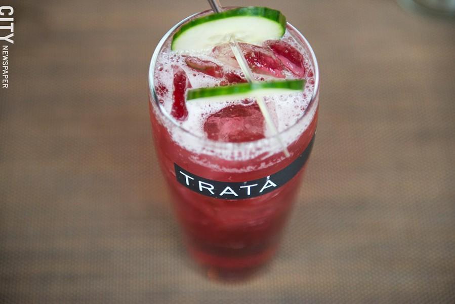 The 145 Culver cocktail at TRATA. - PHOTO BY THOMAS J. DOOLEY