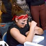 FILE PHOTO - The arm-wrestling ladies of B.R.A.W.L. return January 26.