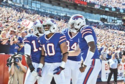 The Buffalo Bills. - PHOTO COURTESY THE BUFFALO BILLS